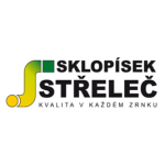 Sklopísek Střeleč a.s. – logo společnosti