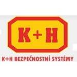 K+H bezpečnostní systémy, s.r.o. (prodejna Kralupy nad Vltavou) – logo společnosti