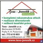 Teso - Janošik s.r.o. – logo společnosti