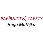 PAPÍRNICTVÍ, TAPETY - Hugo Matějka – logo společnosti