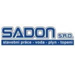 SADON, s.r.o. - stavební práce, voda, plyn, topení – logo společnosti