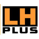 LH Plus garážová vrata a stínící technika – logo společnosti