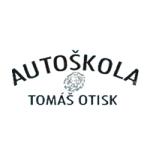 Otisk Tomáš- AUTOŠKOLA – logo společnosti