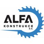 ALFA KONSTRUKCE a.s. – logo společnosti