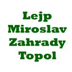 Lejp Miroslav - Zahrady Topol – logo společnosti