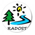 Lukačovská Martina - Rekreační středisko Radost – logo společnosti