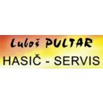 Luboš Pultar HASIČ - SERVIS (sklad/provozovna Mezoun) – logo společnosti
