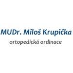 MUDr. Miloš Krupička - ortopedická ordinace (pobočka Kralovice) – logo společnosti