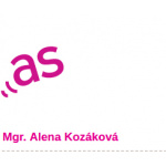 Mgr. Alena Kozáková – logo společnosti