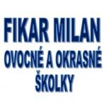 Fikar Milan - OVOCNÉ A OKRASNÉ ŠKOLKY – logo společnosti