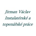 Jirman Václav - Instalatérské a topenářské práce – logo společnosti