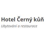 HOTEL A RESTAURACE ČERNÝ KŮŇ – logo společnosti