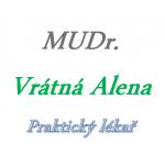 MUDr. Alena Vrátná – logo společnosti