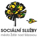 Sociální služby města Žďár nad Sázavou – logo společnosti