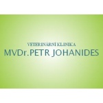 MVDR. Petr Johanides - VETERINÁRNÍ KLINIKA – logo společnosti