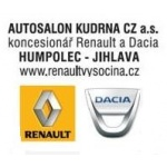 AUTOSALON KUDRNA CZ a.s. – logo společnosti