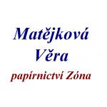 Matějková Věra- papírnictví Zóna – logo společnosti