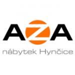 AZA nábytek Hynčice – logo společnosti