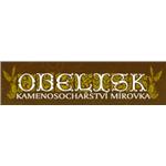 OBELISK - Kamenosochařství – logo společnosti