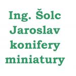 Ing. Šolc Jaroslav- konifery, miniatury – logo společnosti