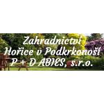 P+D ABIES, s.r.o. - zahradnictví – logo společnosti