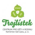 TROJLÍSTEK-CENTRUM PRO DĚTI A RODINU Kamenice nad Lipou, příspěvková organizace – logo společnosti