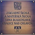 ZŠ A MŠ Jana Blahoslava Kralice nad Oslavou – logo společnosti