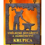 Krupica Pavel - umělecké kovářství a zámečnictví – logo společnosti