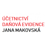Účetnictví a daňová evidence - Makovská Jana – logo společnosti