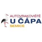 AUTOVRAKOVIŠTĚ U ČÁPA – logo společnosti