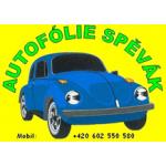 Spěvák Miroslav - Autofólie spěvák – logo společnosti