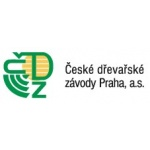 České dřevařské závody Praha, a.s. – logo společnosti