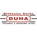 Socha Blahoslav - STAVEBNÍ FIRMA DUHA – logo společnosti