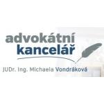 JUDr. Ing. Michaela Vondráková, advokátka – logo společnosti