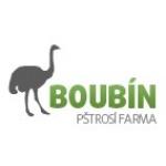 BOUBÍN - PŠTROSÍ FARMA – logo společnosti
