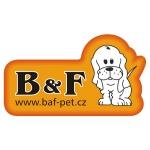 B&F - výroba chovatelských potřeb, s.r.o. – logo společnosti
