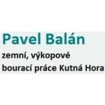 Balán Pavel - ZEMNÍ, BOURACÍ PRÁCE – logo společnosti