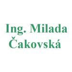 Ing. Milada Čakovská – logo společnosti