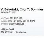 Bekešská Věra - SDRUŽENÍ T.V.K. – logo společnosti
