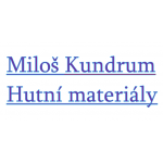 Kundrum Miloš - hutní materiály – logo společnosti