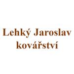Lehký Jaroslav- kovářství – logo společnosti