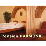 Restaurant a penzion Harmonie – logo společnosti