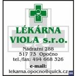 Lékárna Viola, s.r.o. – logo společnosti