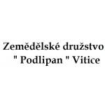 """Zemědělské družstvo """" Podlipan """" Vitice – logo společnosti"""
