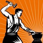 UMĚLECKÉ KOVÁŘSTVÍ – logo společnosti