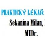 MUDr. Milan Sekanina – logo společnosti
