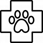 Král Josef, MVDr. - Veterinární klinika u Kašpara – logo společnosti