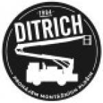 Ditrich Jiří- montážní plošiny – logo společnosti