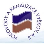 Vodovody a kanalizace Vyškov, a.s. – logo společnosti