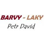 Petr David - barvy, laky – logo společnosti